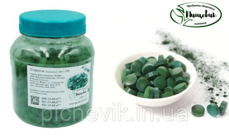 Хлорела в таблетках (Китай) Вага: 500 гр