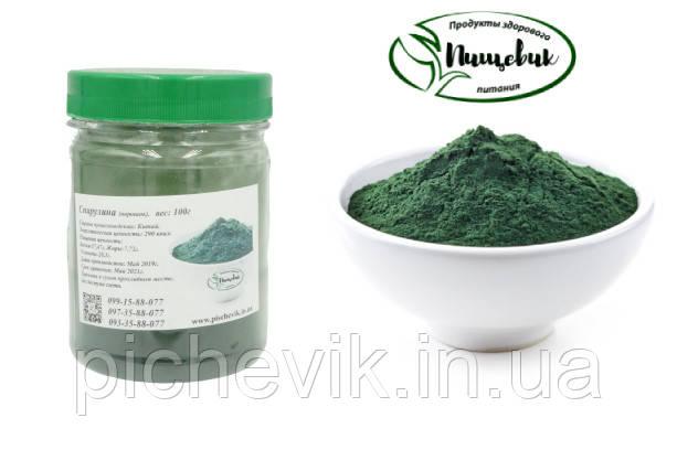 Спирулина в порошке (Китай) Вес: 50 гр