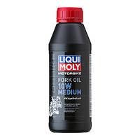 Масло для мотовилок и амортизаторов LIQUI MOLY Motorbike Fork Oil 10W Medium   0.5 л.