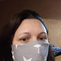 Маски для лица очень удобные из хлопка 100%,бязь не медицинские
