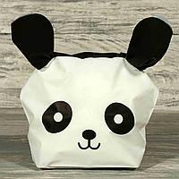Пакет панда з вушками 18х15 см