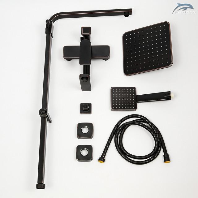 Оригинальная душевая система WEMI SBB-01 Retro оборудована тремя действующими устройствами для комфортного приема душевых процедур.