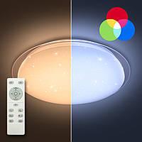 LUMINARIA SATURN 25W RGB R330 SHINY 220V IP44 Потолочный светодиодный светильник с пультом ДУ