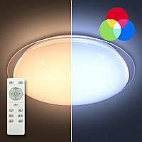 LUMINARIA SATURN 60W RGB R535 SHINY 220V IP44 Потолочный светодиодный светильник с пультом ДУ