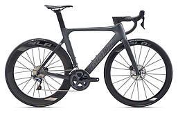 """Велосипед Giant Propel Advanced 1 Disc черный. Gunmetal M, 28"""" (GT)"""