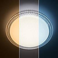 LUMINARIA AKRILIKA SOTA 40W R405 CLEAR/SHINY 220V IP44 Потолочный светодиодный светильник с пультом ДУ