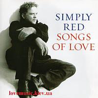 Музичний сд диск SIMPLY RED Songs of love (2010) (audio cd)