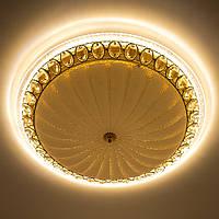 LUMINARIA CASABLANCA GOLD 72W R 515 ON/OFF WHITE 220 IP20 Потолочный светодиодный светильник, фото 1