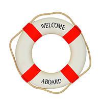 Декор Спасательный круг красный SKL79-208700