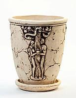 Горшок керамический для растений Эдем №1
