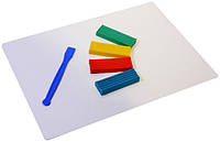 Доска для пластилина А4