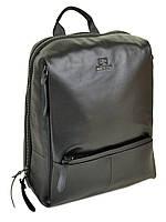 Рюкзак стильный  кожаный BRETTON (30*38*15 см) BE 2004-5 black