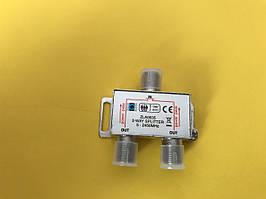 Антенний розгалуджувач 1/2, сплітер з проходом живлення 1/2 ZLA0635
