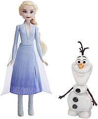 Холодное сердце 2 Кукла Эльза с говорящим Олафом Disney Frozen 2 Talk and Glow Olaf and Elsa