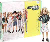 Кукла Создаваемый мир Светлые волнистые волосы Creatable World Deluxe Character Kit Customizable