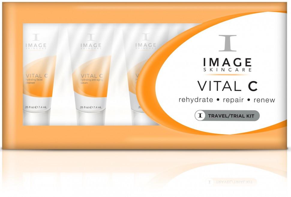 Пробный набор для лица Image Skincare VITAL C Travel/Trial Kit