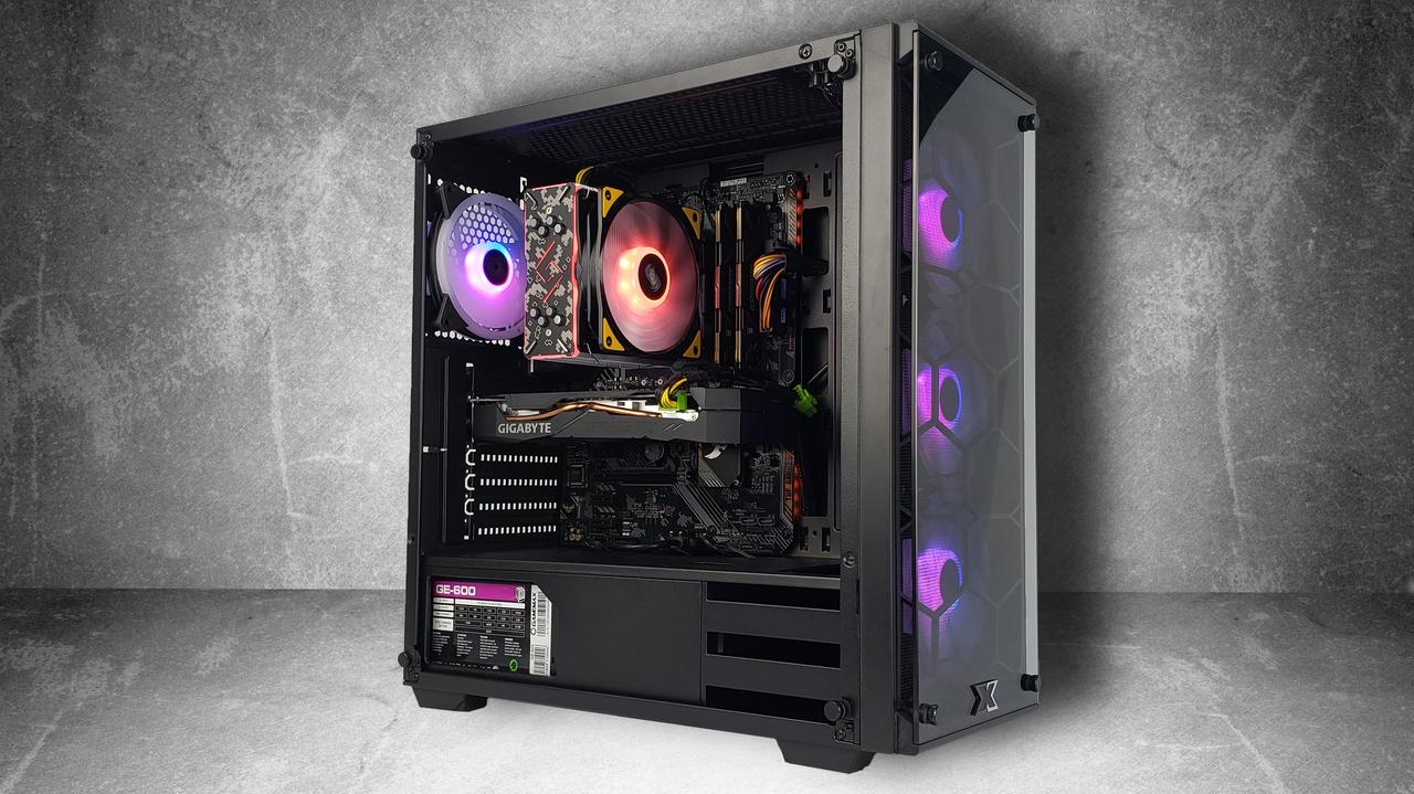 "Игровой компьютер KIEV-IT™ ""Venom"" Ryzen 5 2600 | B450 | RTX 2060 | DDR4 16GB | SSD 240GB | HDD 2TB"