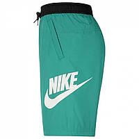 Шорты Nike Nike Sportswear Woven Men's Green/Black - Оригинал, фото 1
