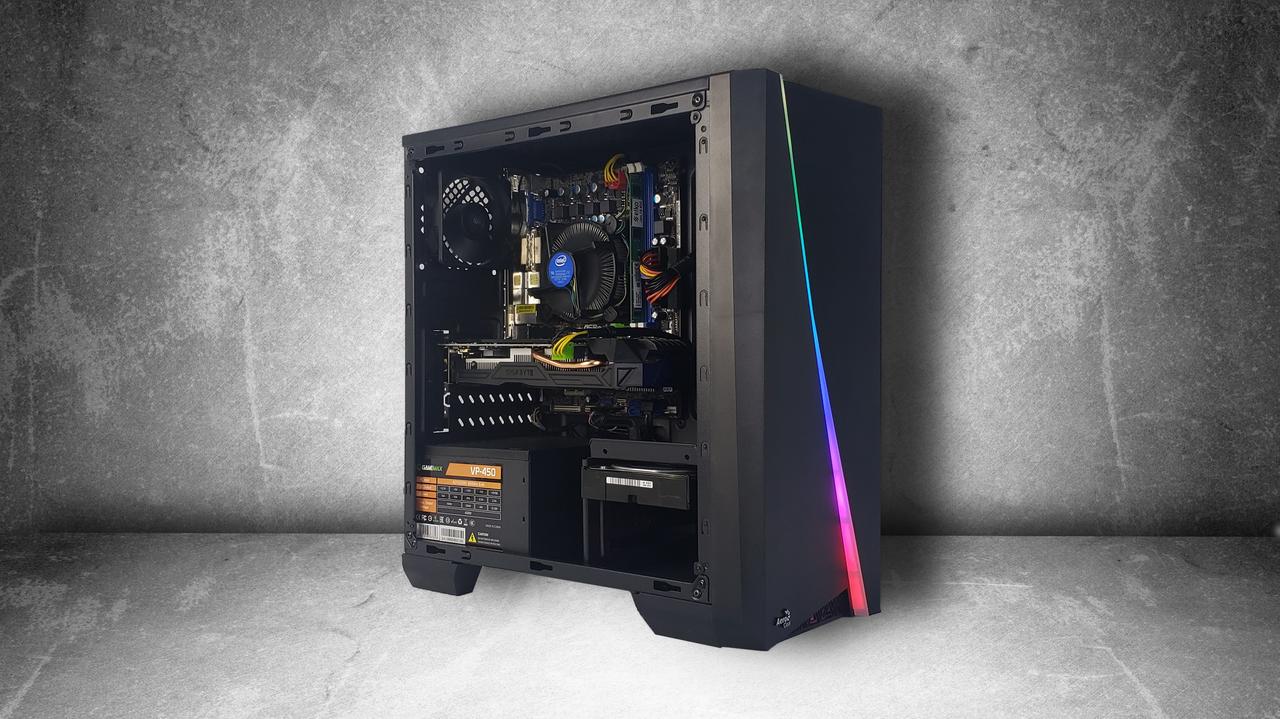 """Игровой компьютер KIEV-IT™ """"Master Game"""" i5 2400   H61   GTX 1060 3GB   DDR3 4GB   HDD 500GB   450W"""