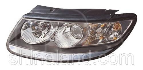 Фара Hyundai Santa Fe II (рестайлинг) 2009 - 2012, ліва, механ., (FPS)