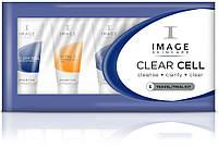 Пробный набор для лица Image Skincare Clear Cell Travel/Trial Kit