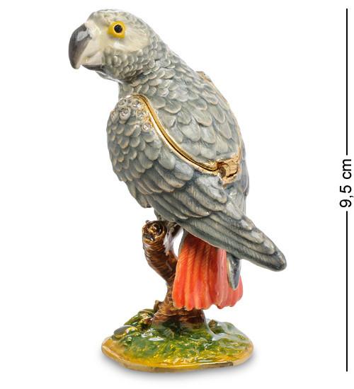 Шкатулка для украшений NOBILITI Попугай 9,5 см 1601611