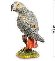 Шкатулка для украшений NOBILITI Попугай 9,5 см 1601611, фото 1