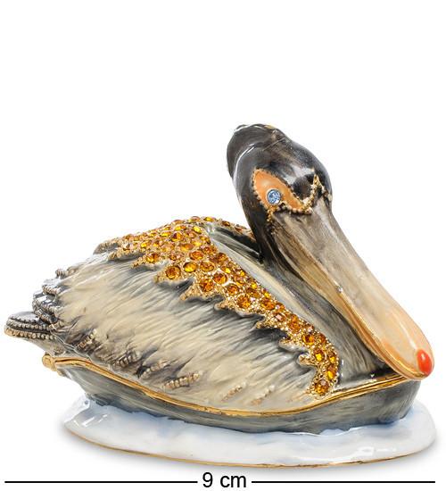 Шкатулка для украшений NOBILITI  Пеликан 9 см 1601009
