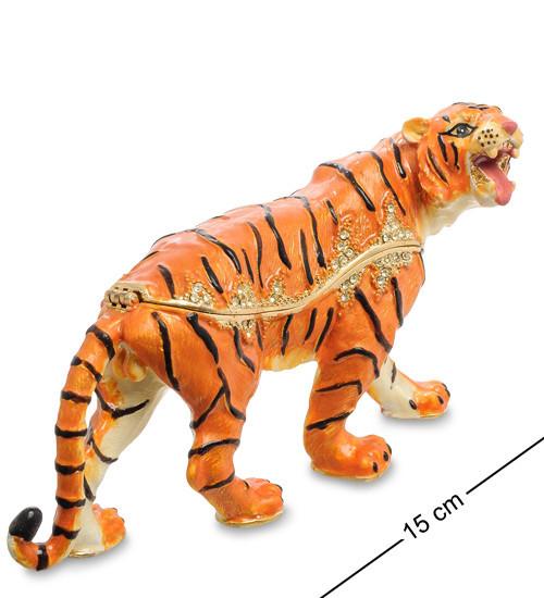 Шкатулка для украшений NOBILITI  Тигр 15 см 1601601