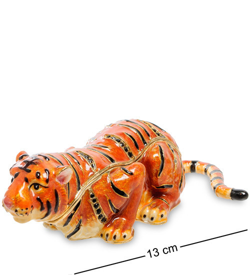 Шкатулка для украшений NOBILITI  Тигр 13 см 1601523