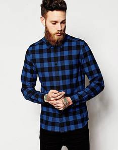 Мужская рубашка Terranova - Alaska Flannel Check Shirt Blue (чоловіча сорочка)