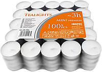 Чайные свечи-таблетки BISPOL pf8-100s, упаковка 100 шт