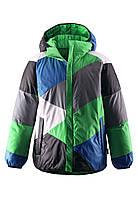Подростковая пуховая куртка для мальчика Reima 531157 - 8490. Размер 128 см., фото 1