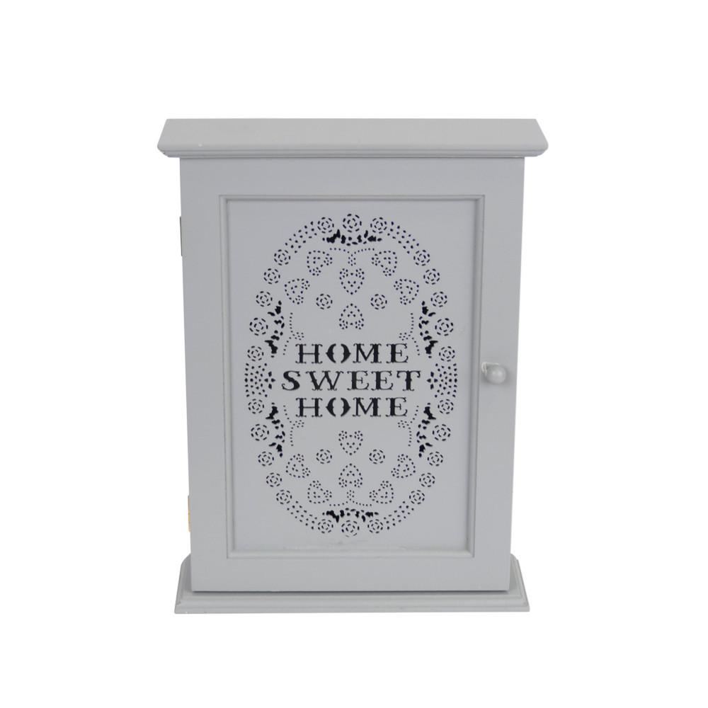Ключница настенная Sweet Home серая SKL11-208937