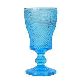 Рюмка стекло Elara синяя SKL11-209419