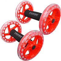 Колеса для пресса Power System Twin Core PS-4065 Красный (36-144836)