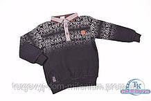 Батник  для мальчика  (цв.черный) трикотажный BARKOT 285794 Рост:98,104,110