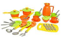 Детский кухонный набор посуды ТЕХНОК (3275) в подарочной упаковке