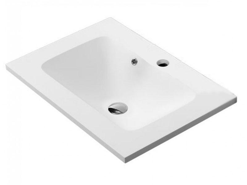 Умывальник 700x480x175 мм, белый матовый 75701404 ASIGNATURA