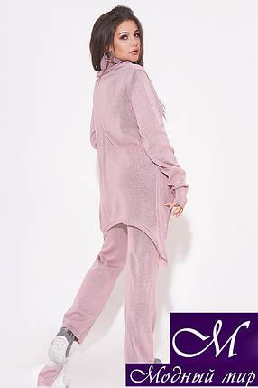 Женский вязаный костюм батальных размеров (р. УН - 48-52) арт. 31-996, фото 2