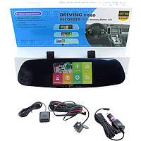 "Зеркало с видеорегистратором CT600 (2,5"" / 2 кам. / FullHD / Android / GPS / WiFi), фото 1"