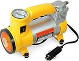 Автомобильный воздушный компрессор CYCLONE + фонарик, фото 3