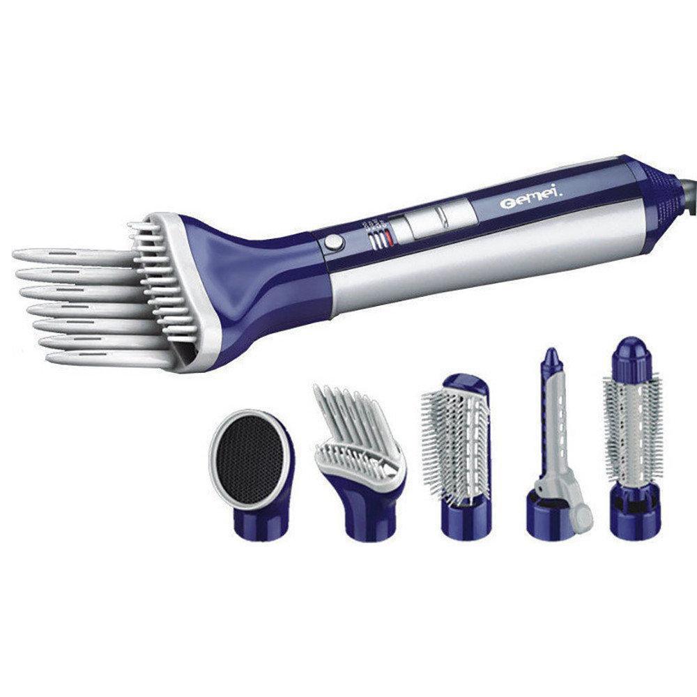 Фен-стайлер для волос 6 в 1 Gemei GM-4834