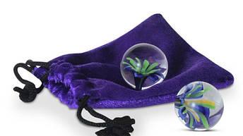 Стеклянные вагинальные шарики Glass Ben Wa Balls от Adam & Eve, фото 2