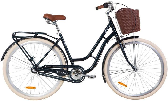 """Городской алюминиевый велосипед 28"""" Dorozhnik CORAL планет.  Al, фото 2"""
