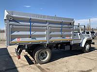 Кузов самосвальный для ГАЗ/ЗИЛ, боковой и задний опрокид (3,8*2,4*1,2 м)