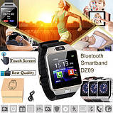 Смарт часы DZ09 с поддержкой sim карт, фото 6