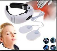 Массажер для шеи Neck Massager KL-5830 массажная вибро подушка, фото 1