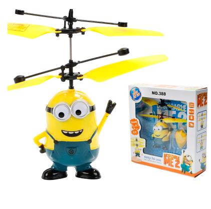 Летающий вертолет Flying Ball Миньон