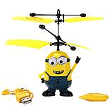 Летающий вертолет Flying Ball Миньон, фото 3